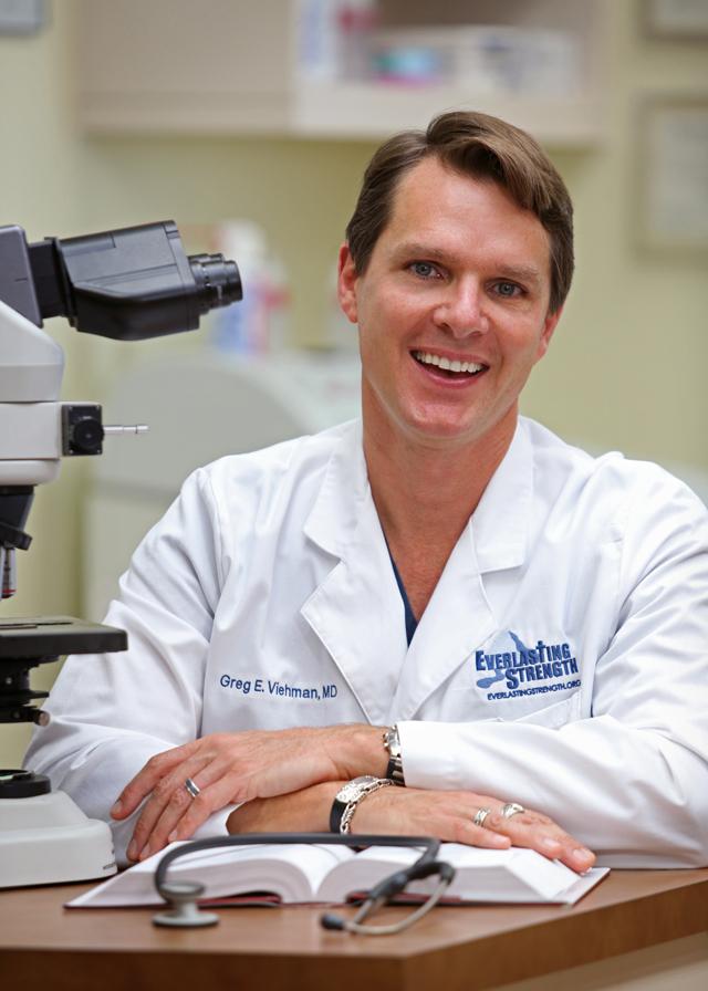 Christian Author Dr. Greg Viehman